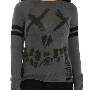 Hot Topic Suicide Squad DC Comic Sweater